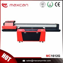 High speed UV led glass printer inkjet 3d effect printing machine with Ricoh print head