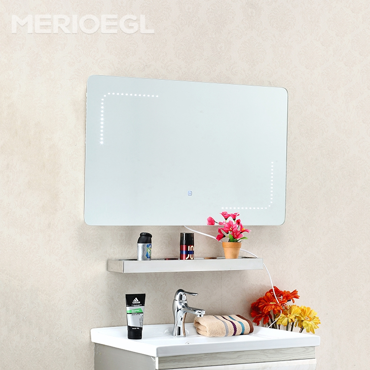 Factory price modern style LED mirror, led bathroom mirror cabinet