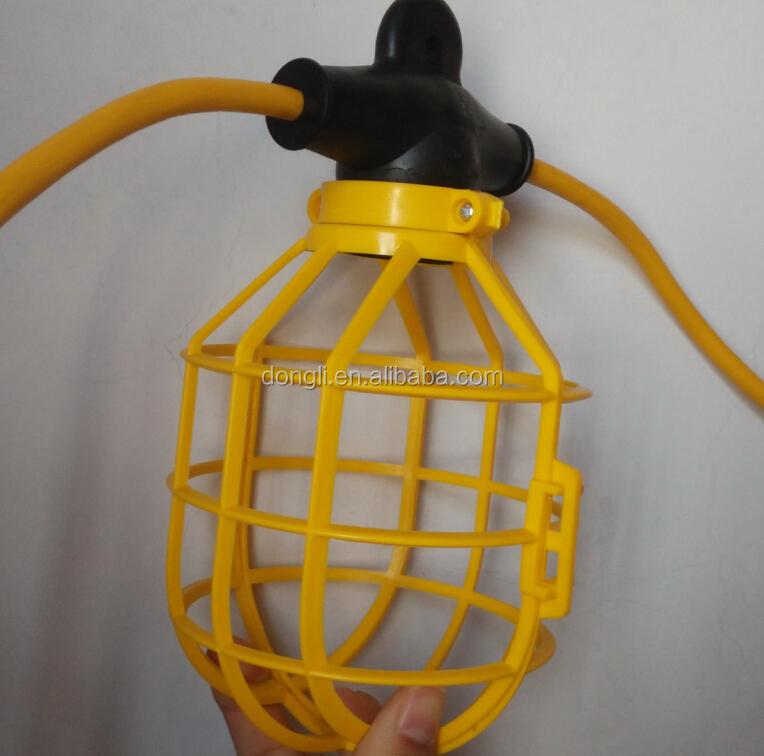 Ul/csa Temporary String Light,Plastic Cage,Construction