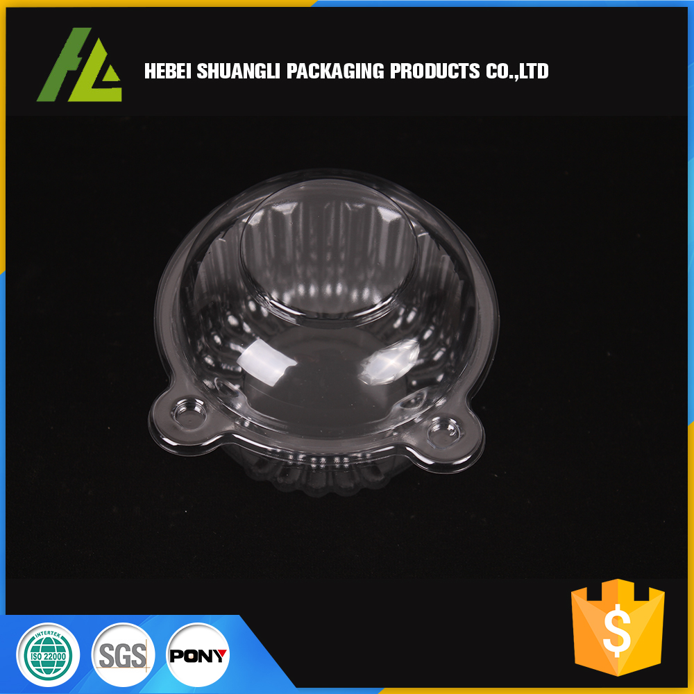 Clear plastic cake containers with dome lid wholesale