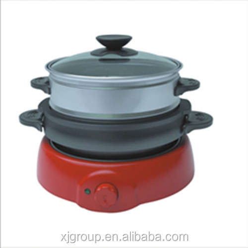 3-layer electric multi-function cooker XJ-10103
