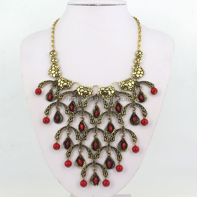 Fashion original coral beads necklace wholesale MLQZAN501