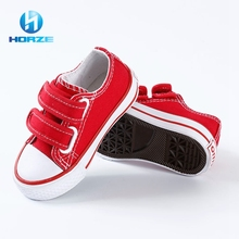 Latest Flat Sole Low Cost Fashion Children Casual Shoes / Kids Canvas Shoes Prices