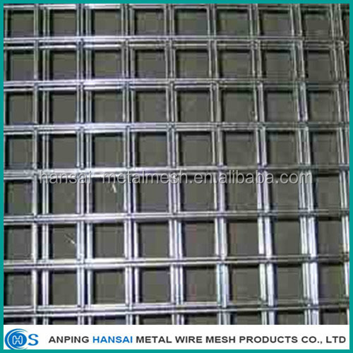 Lowest price welded wire mesh fence panels in 6 gauge made in China