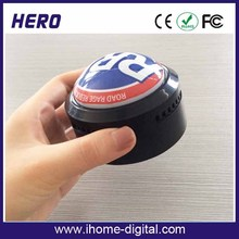 OEM logo support greeting voice recording button stuffed animal sound box with push button with FCC