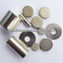 Axially or diametrically ,Strong NdFeB Neodymium Disc Magnets N35