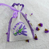 Drawstring Embroidered Sachet Bag