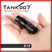 2016 best outdoor portable mini led lamp from Tank007 led flashlight factory E18