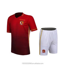wholesale cheap sportswear uniforms for adult and kids football uniform suit custom make sublimation soccer jersey dri fit DIY