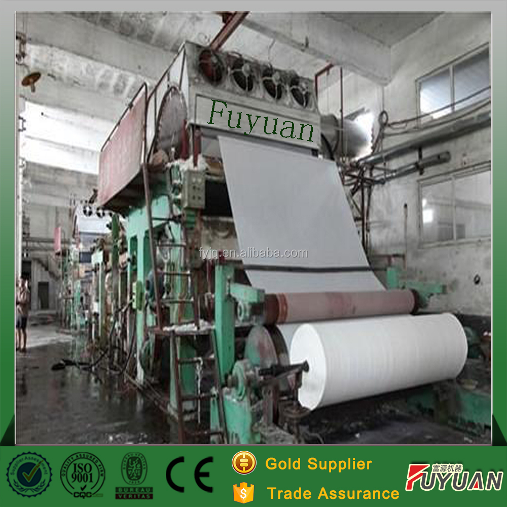 China Manufacturer Hot Sale Toilet Tissue Paper Making Manufacturing Machine Price
