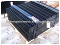 Black powder coated steel bar grating/frame lattice(China Factory)