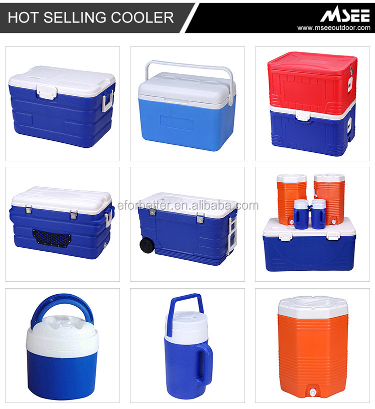 Outdoor Ice Chest 10GAL Plastic breast milk Cooler Box 30 qt/120l rotomolded cooler