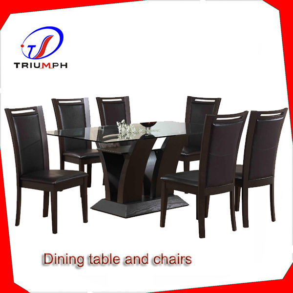 Italian Classic style Dining Room Set- hand carved solid wood dining table and chairs