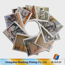 Factory supplier glossy lamination wholesale high quality customized postcard, leaflet ,book printing