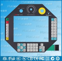 Waterproof membrane keypad with Embossing buttons