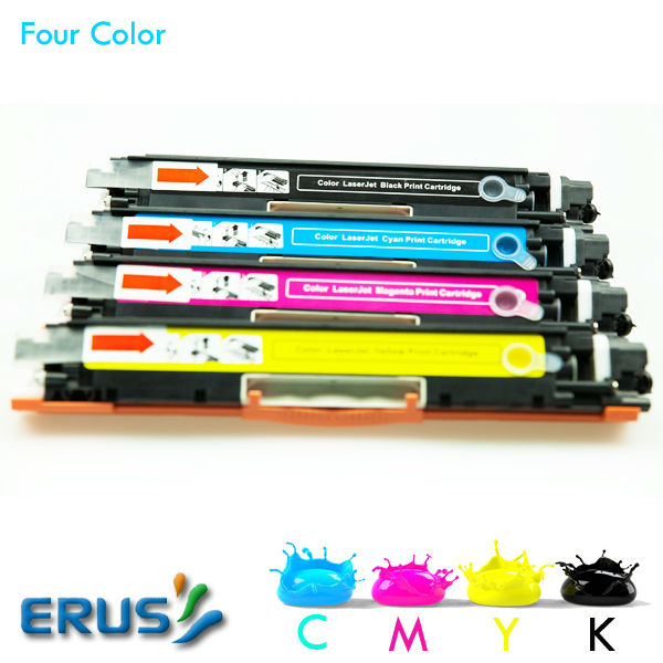 For HP Laser jet pro CP1025 CP1025nw 1025 Toner Cartridge CE310A CE311A CE312A CE313A CE314A