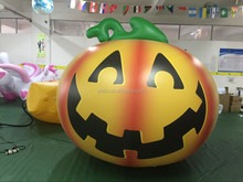 Factory Price giant halloween decoration,inflatable yellow artifical pumpkins to decorate