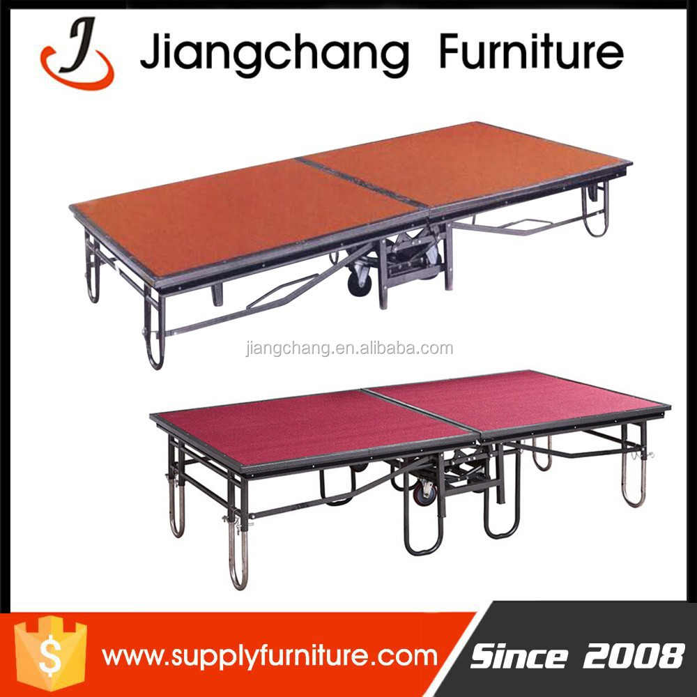 Wholesale Folding Movable Mobile <strong>Stage</strong> Sale With High Quality JC-P64