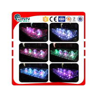 indoor ourdoot 3*5m decoration Led light colorful mushroom water fountain