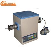 High Quality Reliable Programmable PID Control High Temperature 1600c laboratory vacuum tube furnace