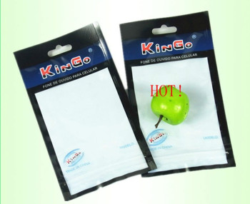 HOT Transparent Headphones line Zipper Pouch