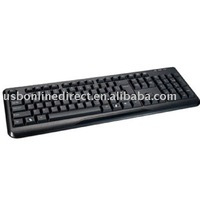 104 keys standard wired desktop keyboard