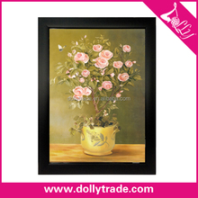 Modern art wall frame mural painting interior wall flower painting