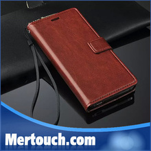 retro flip case for Xiaomi mi4 leather wallet book style smart wake/ sleep