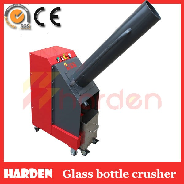 how to make a glass bottle crusher