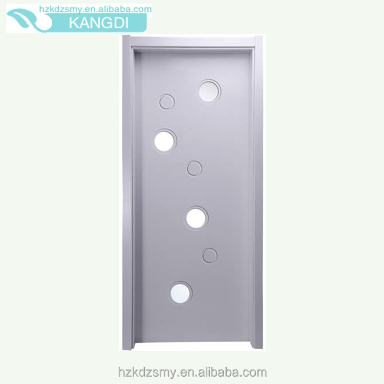 Cardboard Interior Frosted Glass Closet Doors