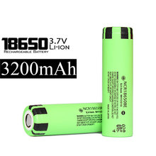 High capacity 3200mah can be set thin charger for battery power 3.7V 3200mah NCR18650 batteries from Japan battery