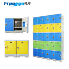 ABS plastic electronic smart gym school locker