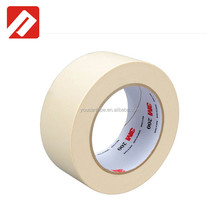 Colorful Rubber Adhesive Masking 3M Crepe Paper Tape 244