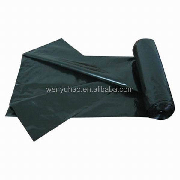 custom printed black disposable 100% biodegradable manufacture Garbage plastic Roll Bag