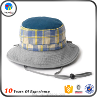 Wholesale men designer bucket hat with string