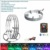 14 15.5 17inches 16mililion RGB Colors Smartphone Control car Wheel LED Light Cars