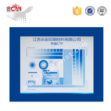 thermal water wash photopolymer ctp plate