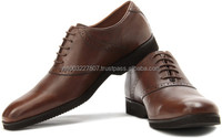 Stylish Half Brogue 100% Genuine Leather Shoes