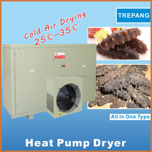 Low electric corvina dryer room/IKE Hot air heat pump seafood drying machine