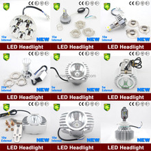 All in one design CARSEN LED light with fan 20w LED Headlight chinese motorcycle accessories