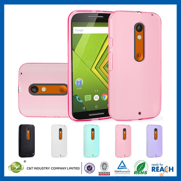 C&T Hot Selling Flexible Transparent Soft TPU Back Cover Case For Lenovo A7010