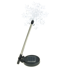 High quality garden terrace lawn snowflake solar led light