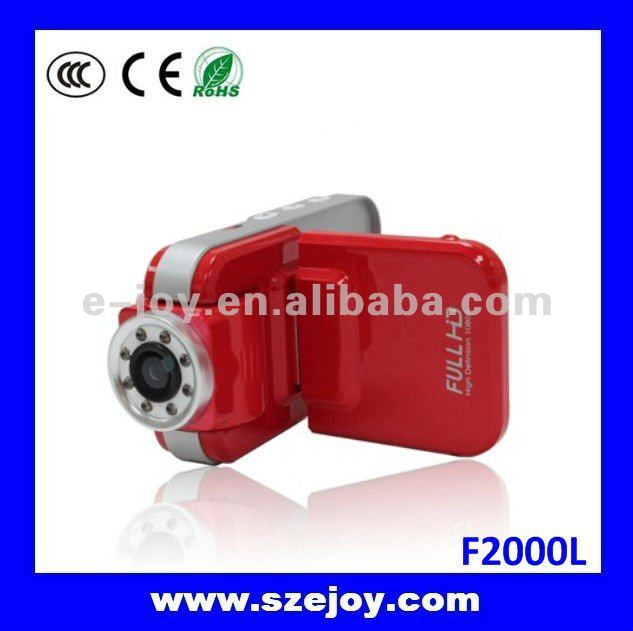 Special Designed HD Car Camera 1080P With Motion Sensor F2000LHD