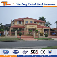 Light steel structure Prefabricated villa