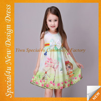 SHLY-2156 Latest design baby frock beautiful kids dresses baby frock designs