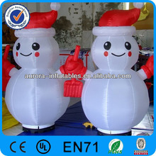 2014 lovely Christmas Yard Decoration Inflatable Lighting Snowman