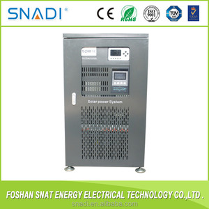Single Phase Pure Sine Wave Low Frequency 192V 10KW PWM Controller Off Grid Solar Water Pump Inverter