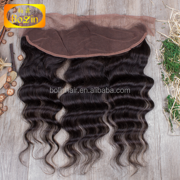 Alibaba Qingdao Hair Factory Wholesale Top Quality Natural Wave Density 130% Bleached Knots Aliexpress Hair Frontal Lace Hair