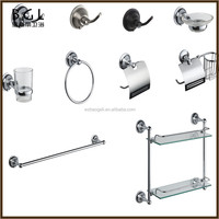 Classic High quality Zinc alloy Polished Chrome bathroom accessory sets
