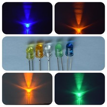 high quality white amber green yellow blue round 5mm led